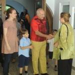 Dan Voiculescu si familia- 4 iunie