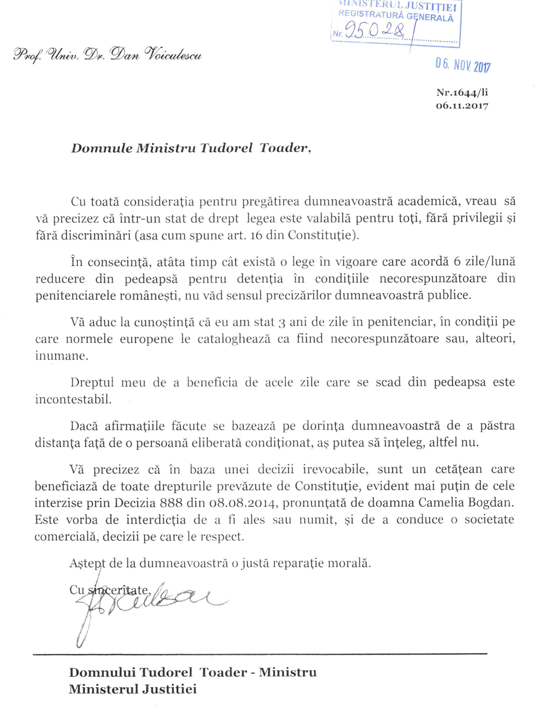 scrisoare-ministrul-justitiei